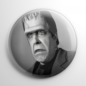 Herman Munster Button