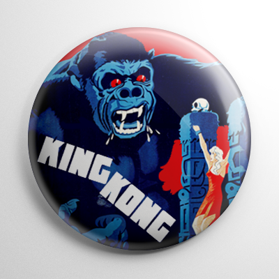 King Kong (B) Button