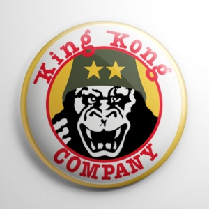 Taxi Driver - King Kong Company Button