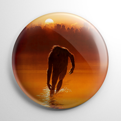 The Legend of Boggy Creek Button