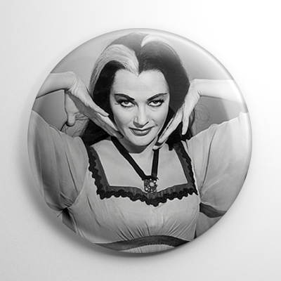 Lily Munster Button