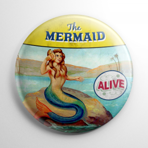 Sideshow - The Mermaid Button