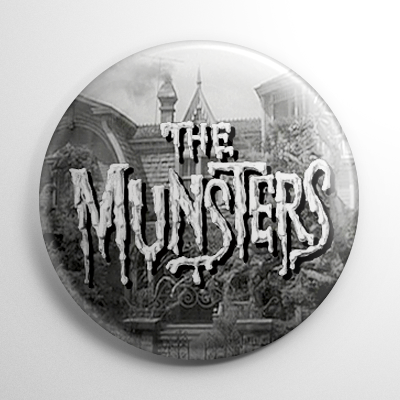 The Munsters Button