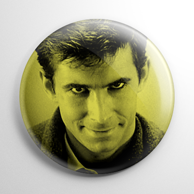 Psycho Norman Bates Button