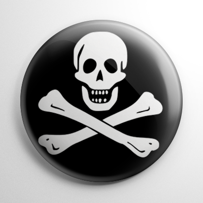 Pirate Flag - Black Sam Button