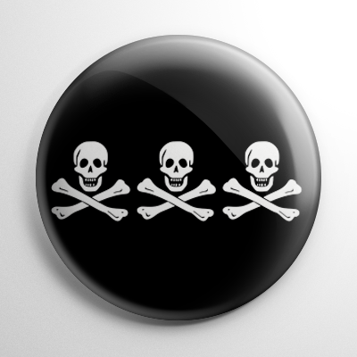 Pirate Flag – Billy One-Hand / Christopher Condent Button