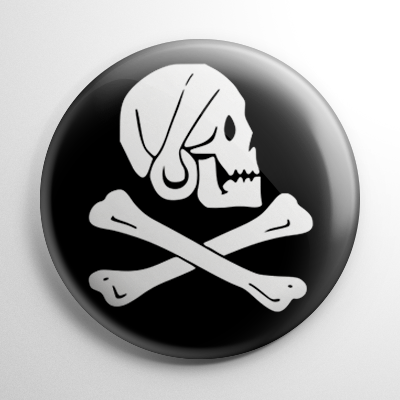 Pirate Flag – Henry Every Black Button