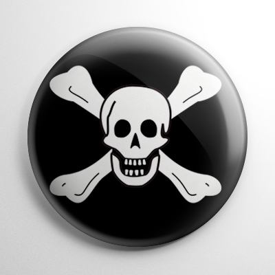 Pirate Flag - Richard Worley Button