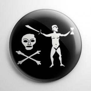 Pirate Flag - Walter Kennedy Button