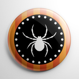 Vintage Halloween - Spider Button