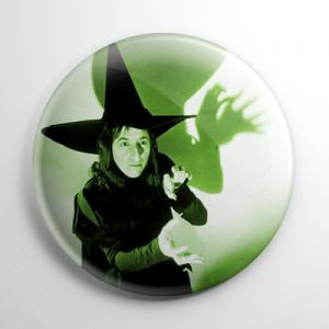 Wizard of Oz - Wicked Witch of the West (B) Button