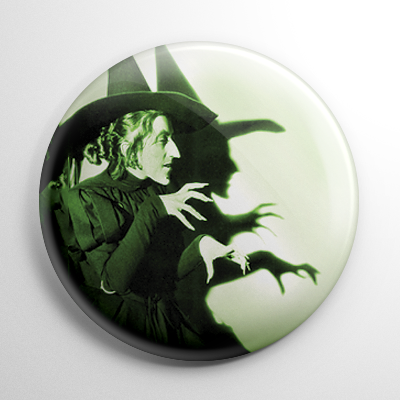 Wizard of Oz - Wicked Witch of the West Button
