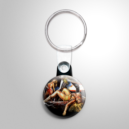 Grindhouse - Cannibal Ferox (C) Keychain