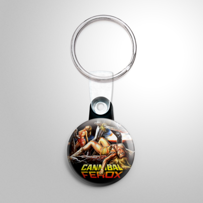 Grindhouse - Cannibal Ferox (D) Keychain