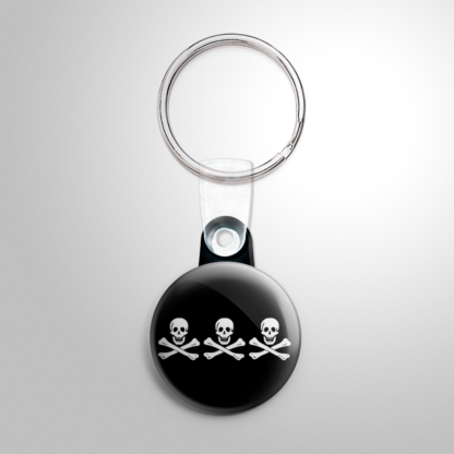 Pirate Flag - Billy One-Hand / Christopher Condent Keychain