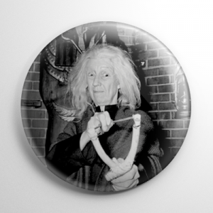The Addams Family Grandmama Button