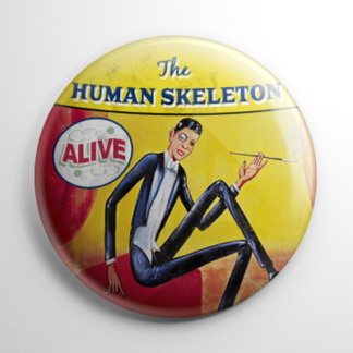 Sideshow - Human Skeleton Button