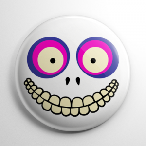 Nightmare Before Christmas - Barrel Button
