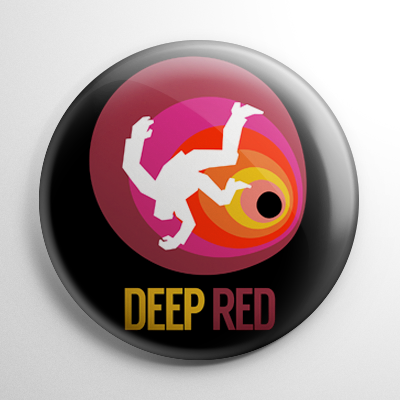 Deep Red (B) Button