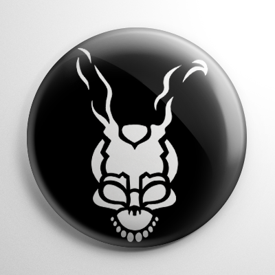 Donnie Darko Stencil Button
