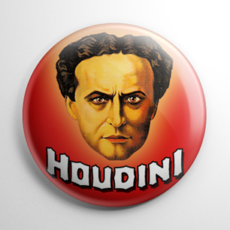 Harry Houdini (B) Button
