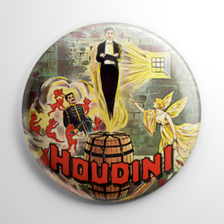 Harry Houdini (C) Button