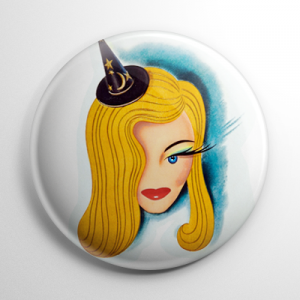 I Married a Witch Button