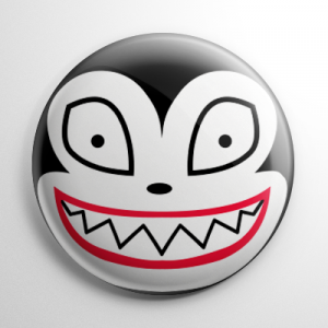 Nightmare Before Christmas - Scary Teddy (B) Button