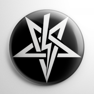 Sigil of Anton Szandor LaVey (A) Button