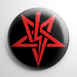 Sigil of Anton Szandor LaVey (C) Button