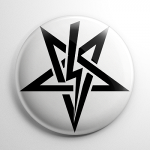 Sigil of Anton Szandor LaVey (D) Button