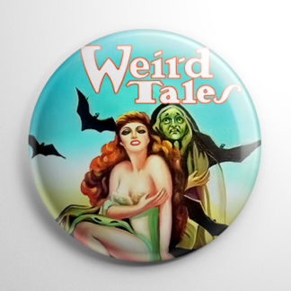 Weird Tales - The Witch's Mark Button