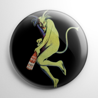 Absinthe - Maurin Quina by Leonetto Cappiello Button