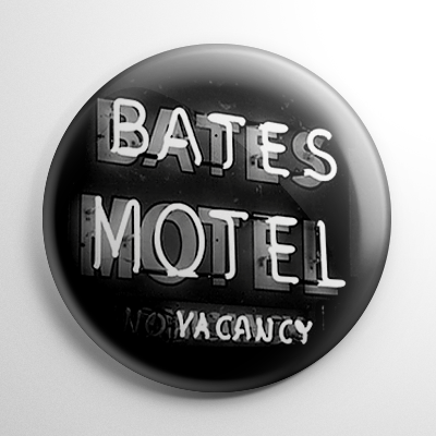 Psycho Bates Motel Button