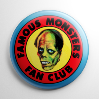 Fan Club - Famous Monsters Button