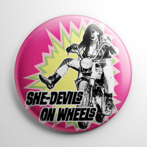 She-Devils on Wheels Button