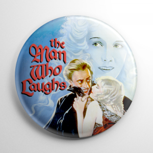 The Man Who Laughs (C) Button