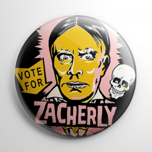 Zacherley for President Button