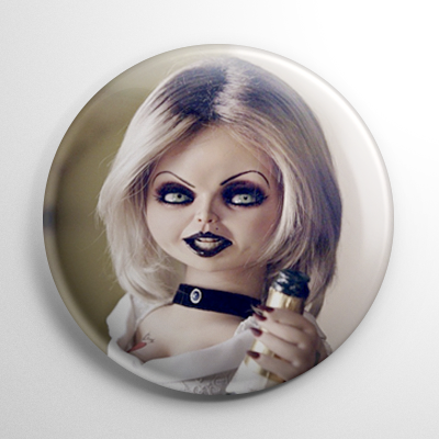 Bride of Chucky Button