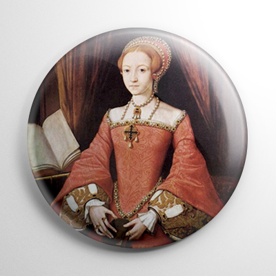 Countess Elizabeth Bathory Button
