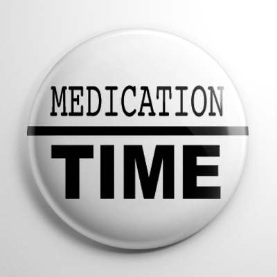 Medication Time (B) Button