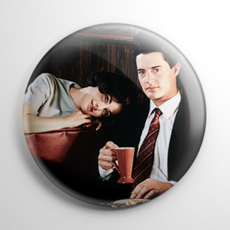 Twin Peaks Audrey Horne Agent Dale Cooper Button