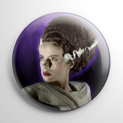 Bride of Frankenstein (F) Button