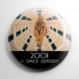 2001: A Space Odyssey (D) Button