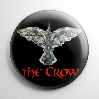 The Crow (A) Button