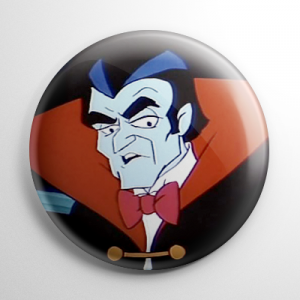 Drak Pack Dracula Button