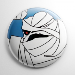 Drak Pack Mummy Man Button