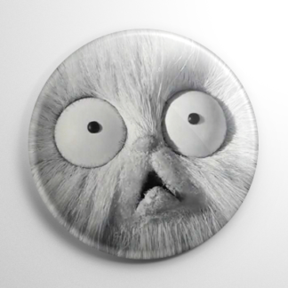 Frankenweenie - Mr. Whiskers Button