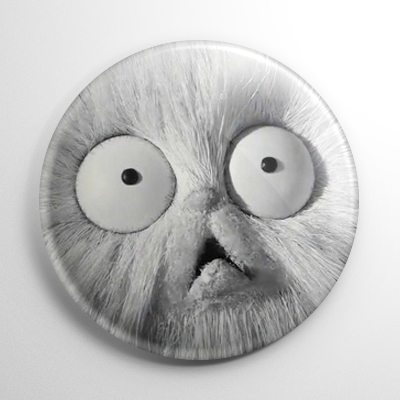 Frankenweenie – Mr. Whiskers Button