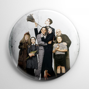 The Addams Family Movie Button